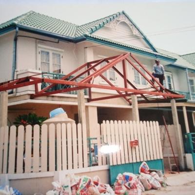 รับงานก่อสร้าง ต่อเติมบ้าน
