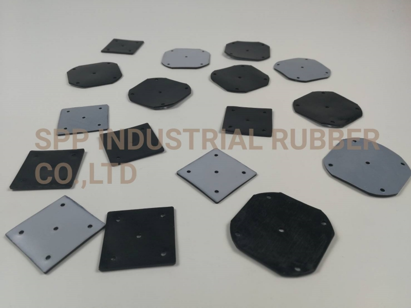 Diaphragm Rubber with Teflon