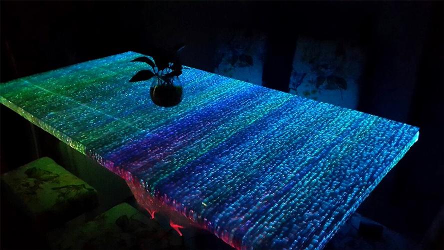 ผ้า Fiber Optic ประดับตกแต่ง