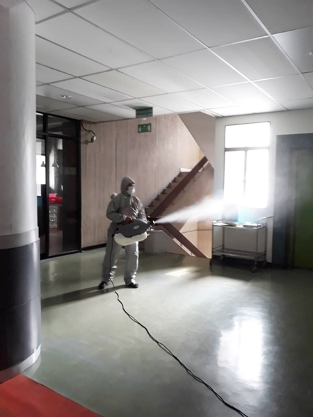 บริการพ่นยาฆ่าเชื้อโรคในบ้าน