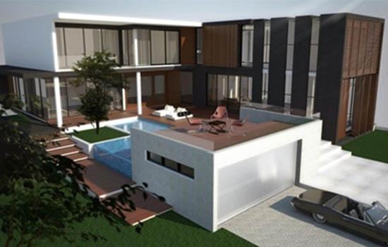 รับจ้างทำแบบบ้าน-อาคาร 3D