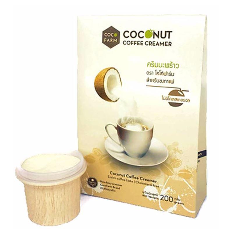 Coco Farm  ครีมมะพร้าวสำหรับชงกาแฟ