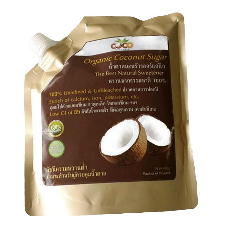 Coco Farm น้ำตาลมะพร้าว (ออร์แกนิค)