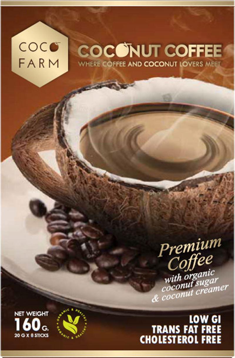 Coco Farm กาแฟมะพร้าว 3 in 1
