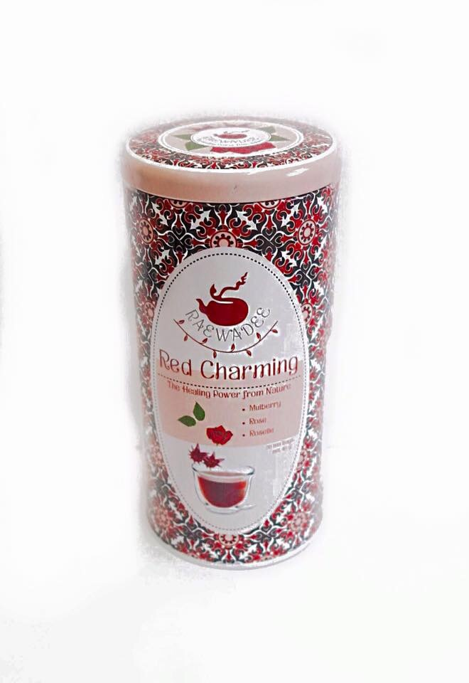 ชาเรวดี สูตร Red Charming กุหลาบกระเจี๊ยบ 20 ซอง