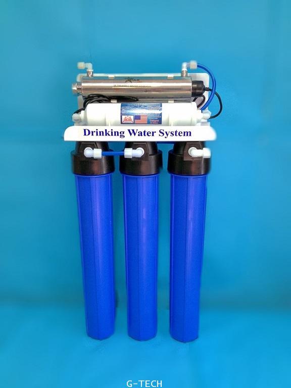 เครื่องกรองน้ำ UV 16 วัตต์ 20 นิ้ว