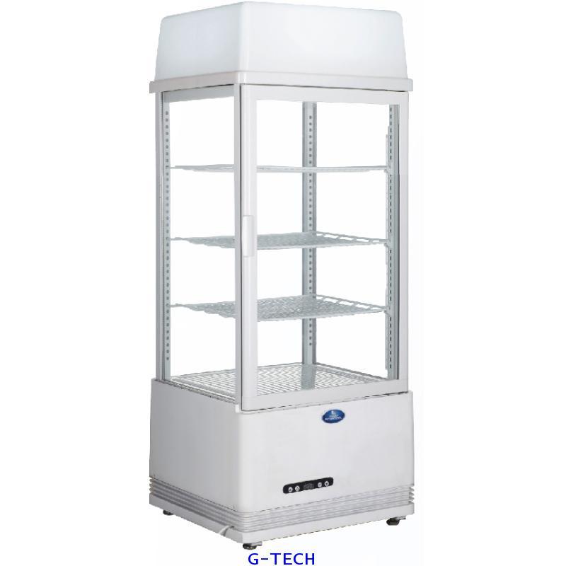 ตู้แช่เย็นกระจก 1 ประตู รุ่น SAG-0783 (2.76 คิว)