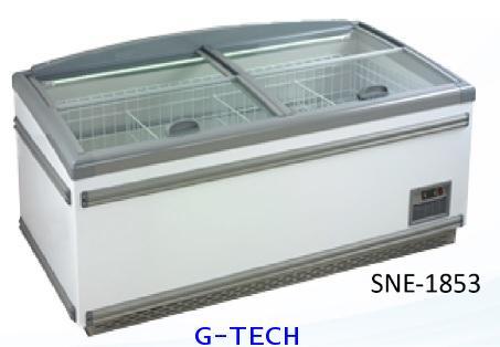 ตู้แช่แข็งฝากระจก SANDEN INTERCOOL รุ่น SNE-1853