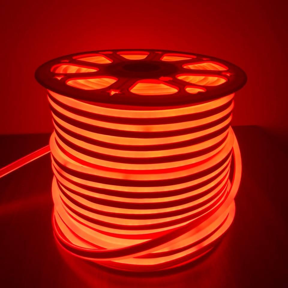 นีออนเฟล็กซ์ 220v 100 ม. สีแดง
