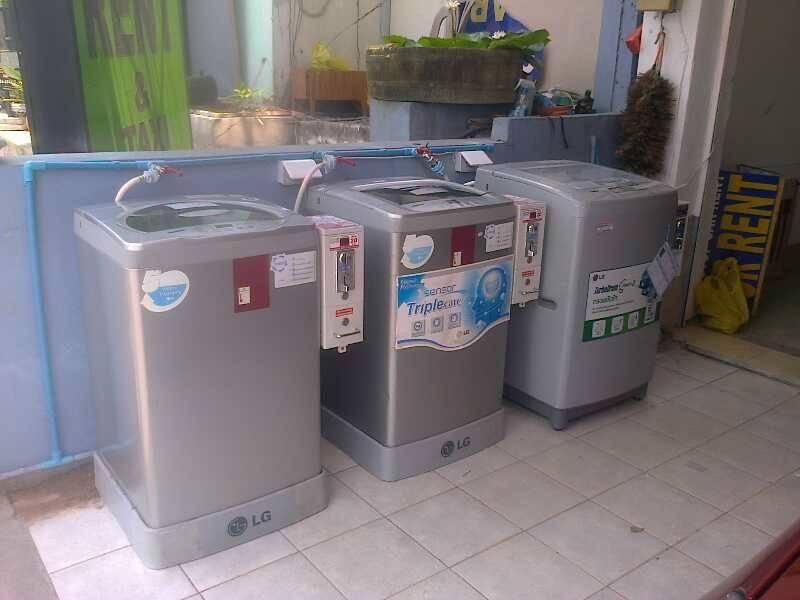 เครื่องซักผ้าหยอดเหรียญราคาถูก 10 kg จ นครนายก