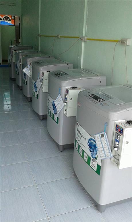 เครื่องซักผ้าหยอดเหรียญราคาถูก 9 kg จ สกลนคร
