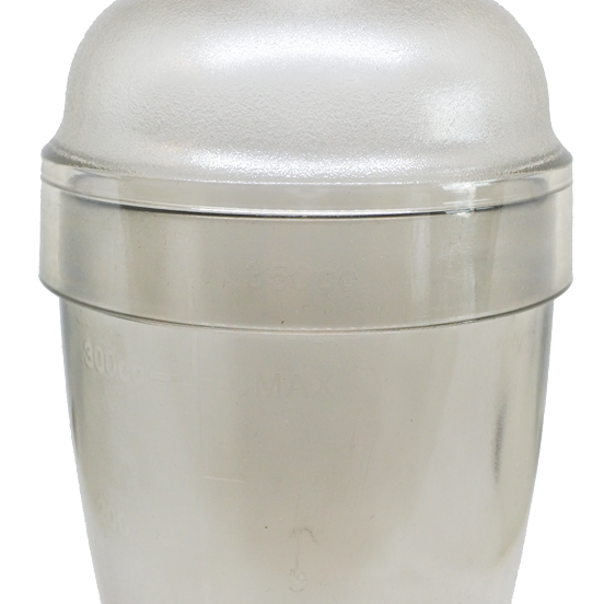 กระบอกเชคพลาสติก 550 ml