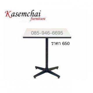โต๊ะคาเฟ่ หน้าโฟเมก้าขาว