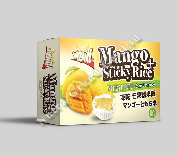 Freeze Dry Mango Sticky Rice 60g