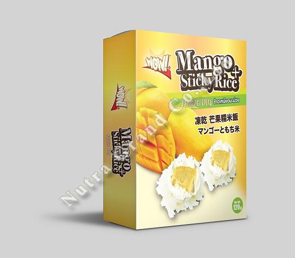 Freeze Dry Mango Sticky Rice 120g