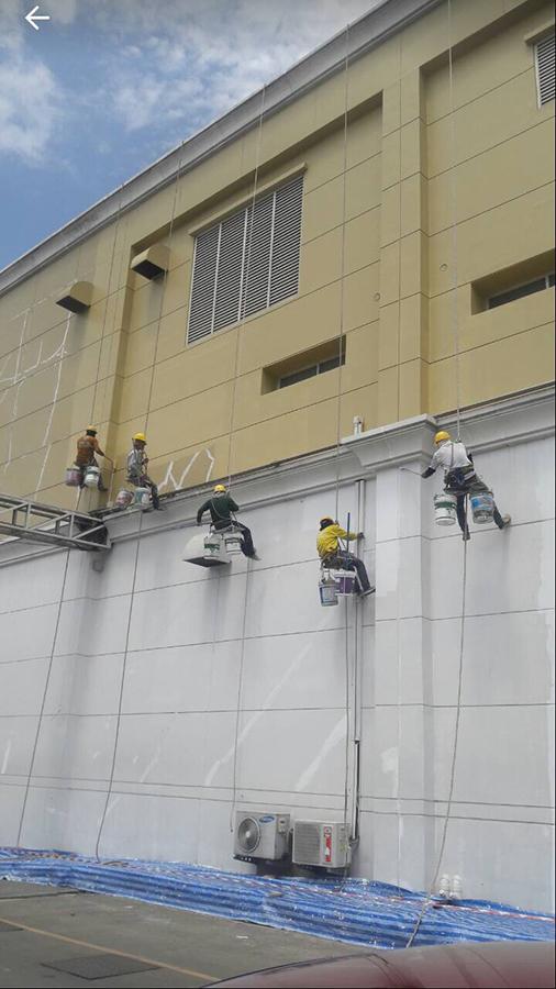 รับจ้างทาสีตึกสูง