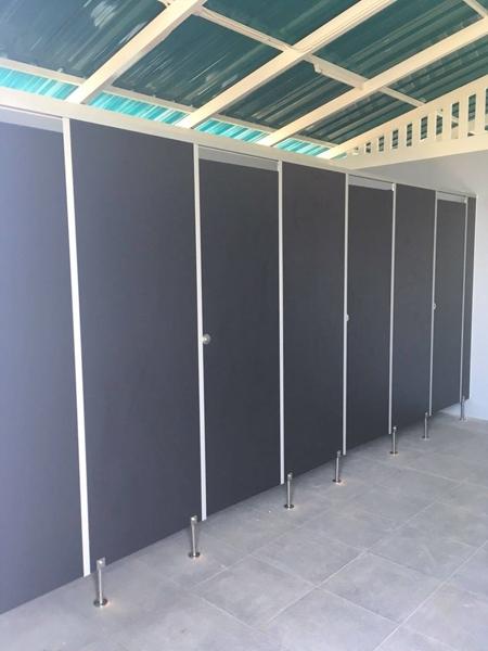 ผนังกั้นห้องน้ำสำเร็จรูป งานดี