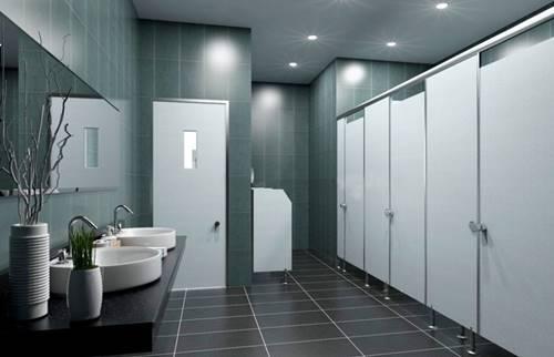 ผนังกั้นห้องน้ำ