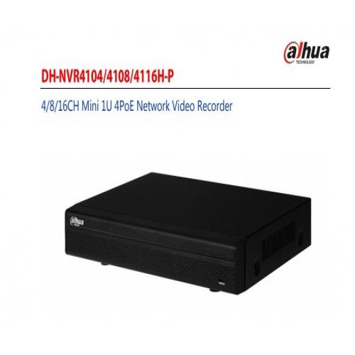 กล้องวงจรปิด Dahua รุ่น NVR4108H-8P