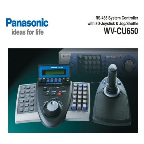 กล้องวงจรปิด Panasonic รุ่น WV-CU650