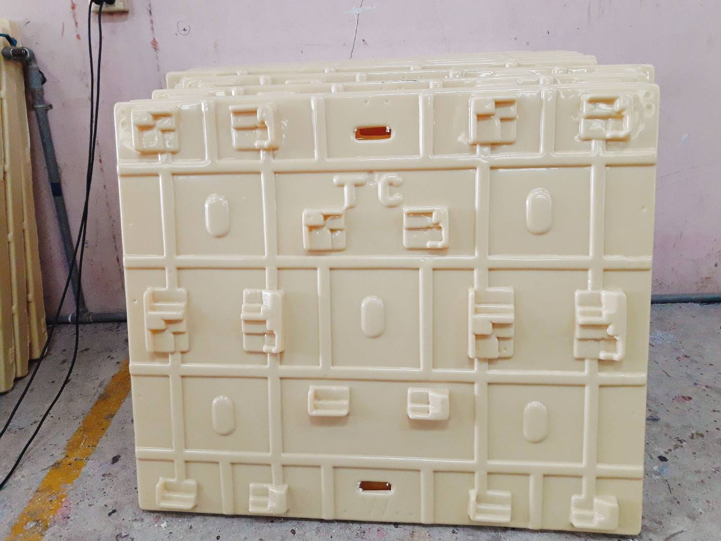 Plate Support Block
