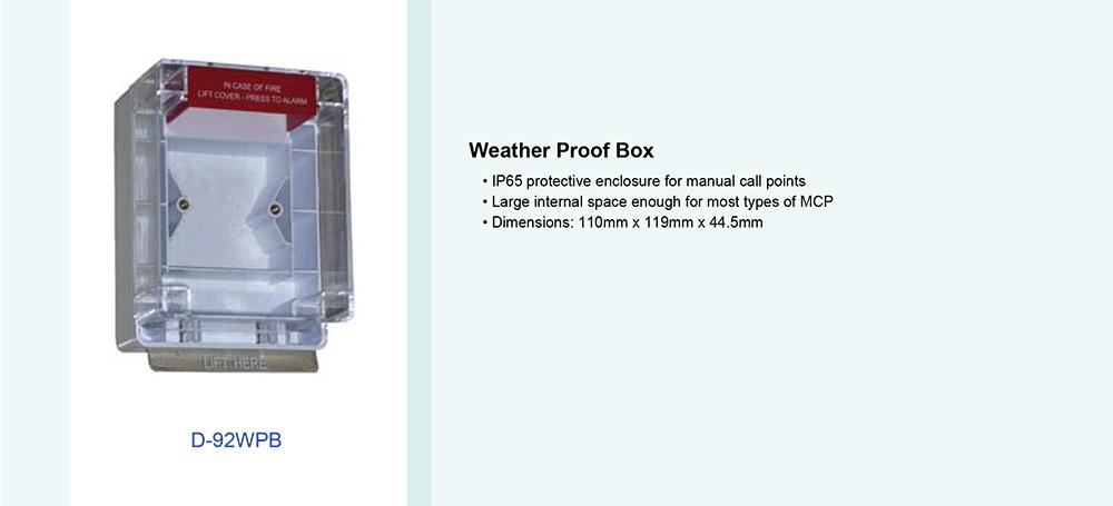 Weather Proof Box รุ่น D-92WPB