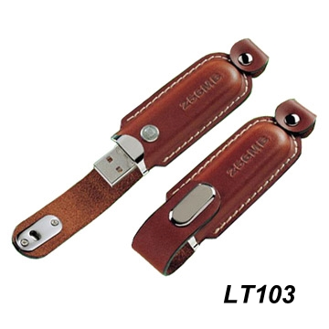 Leather Flash Drives