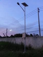 โคมไฟถนนพลังงานแสงอาทิตย์