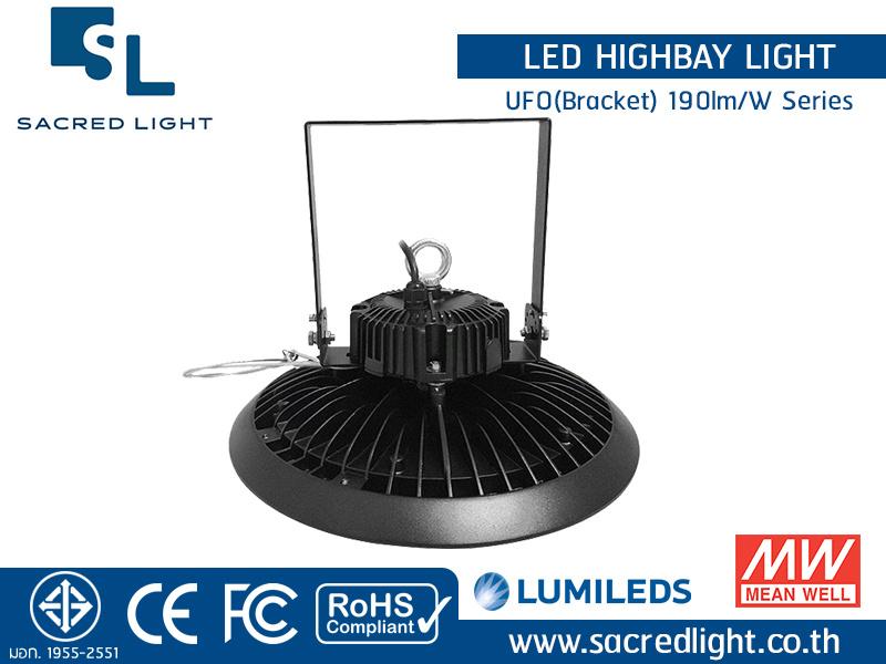 โคมไฮเบย์ LED รุ่น UFO(Bracket) 190lm/W Series