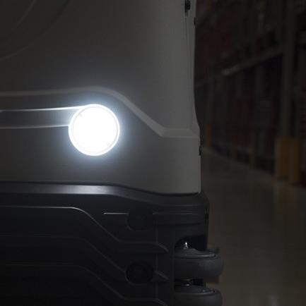 รถขัดพื้นดูดน้ำอัตโนมัติ รุ่น C 100 B
