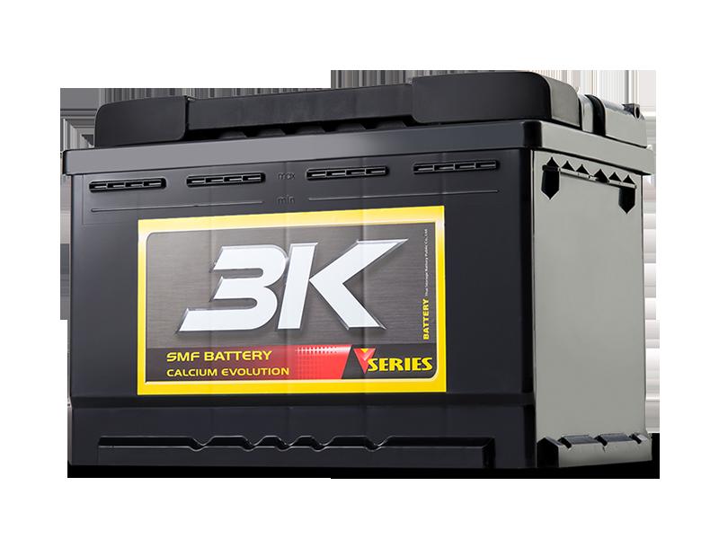 แบตเตอรี่รถยนต์ 3K รุ่น VDS65