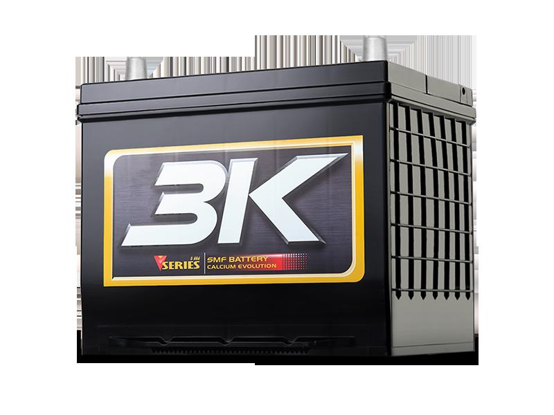 แบตเตอรี่รถยนต์ 3K รุ่น VS60