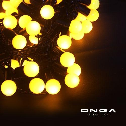 ไฟเชอร์รี่ LED: แสง Warm White, 50 led, ยาว 5 เมตร, แบบนิ่ง