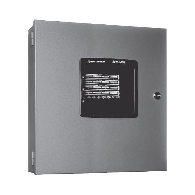 4-Zone Fire Alarm Control Panels SFP-2404