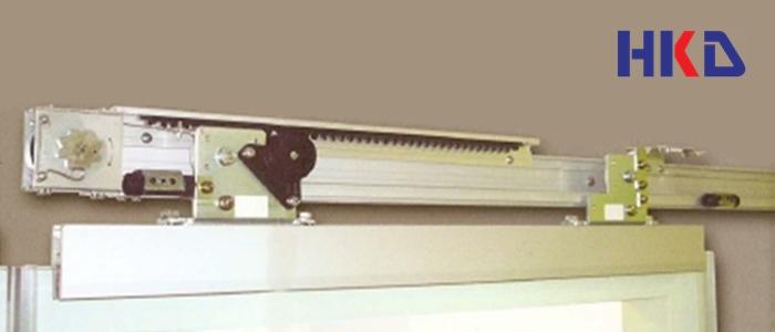 ระบบประตูบานเลื่อนกึ่งอัตโนมัติ HKD GSC-150 Series