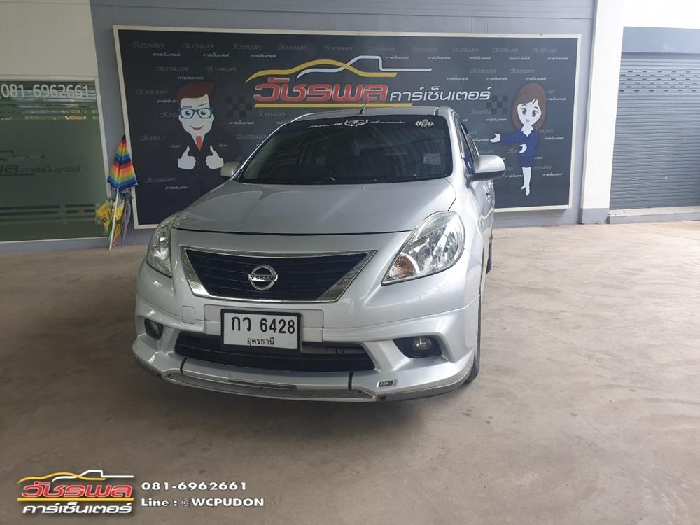 Nissan Almera 1.2 VL A/T สีเงิน