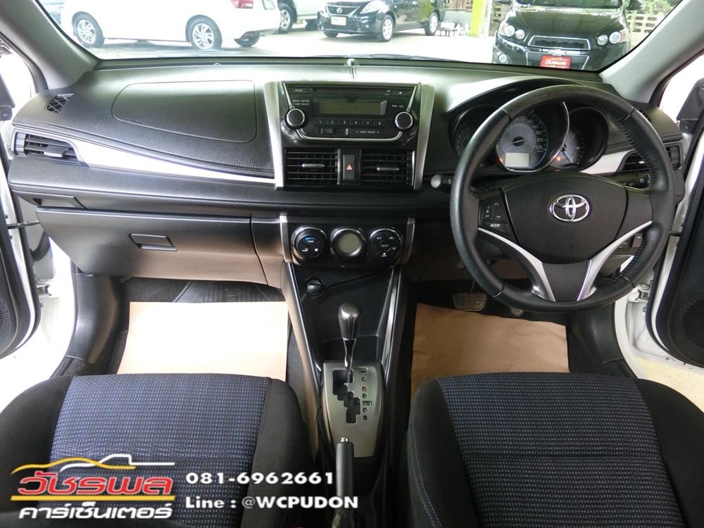 Toyota Vios 1.5 G A/T (2015) สีขาว