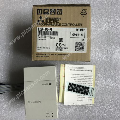 Mitsubishi PLC FX2N-4AD-PT