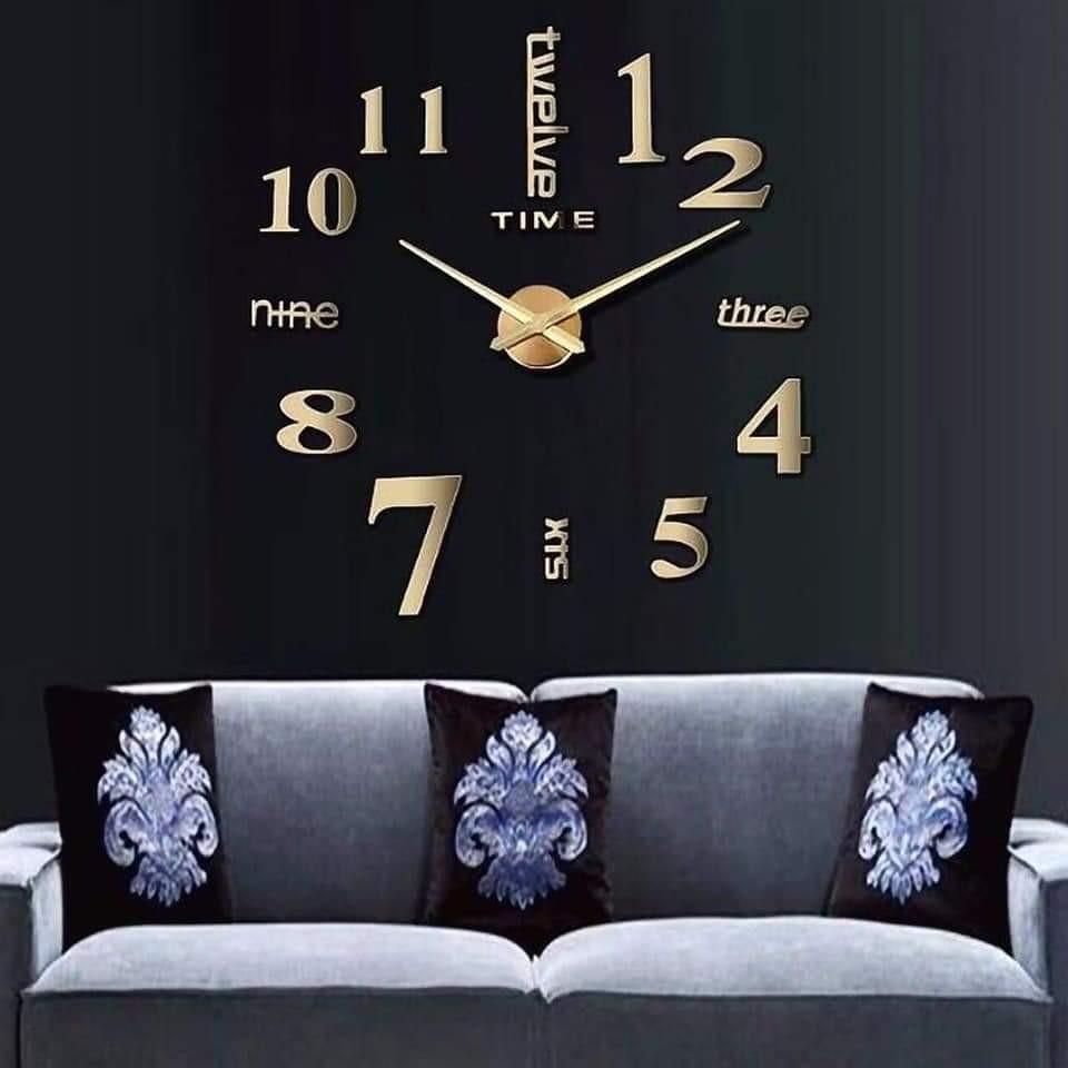 นาฬิกาติดผนัง DIY