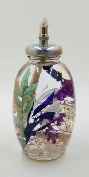 Herbarium Oil Lamp 2