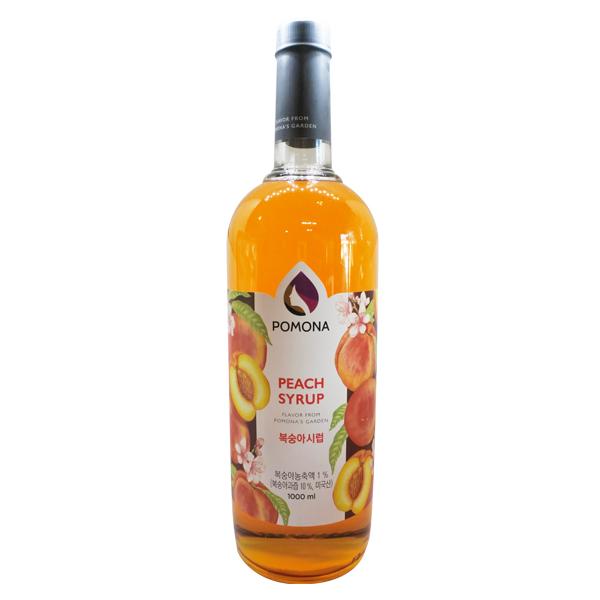 Peach Tea Syrup