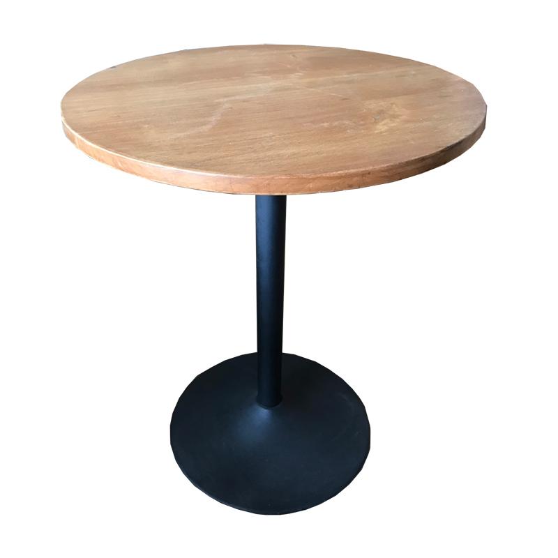 โต๊ะทรงกลมขาแชมเปญ รหัส TBS-05