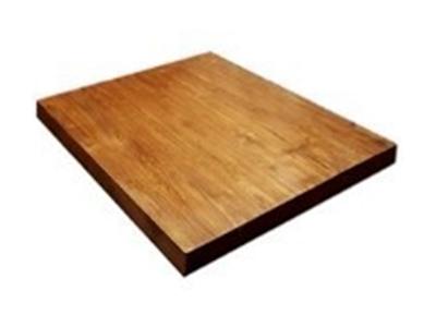 ท็อปโต๊ะไม้สักทรงเหลี่ยม รหัส TT-04