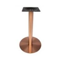 ขาโต๊ะสแตนเลสกลมสีโรสโกลด์ SL 10