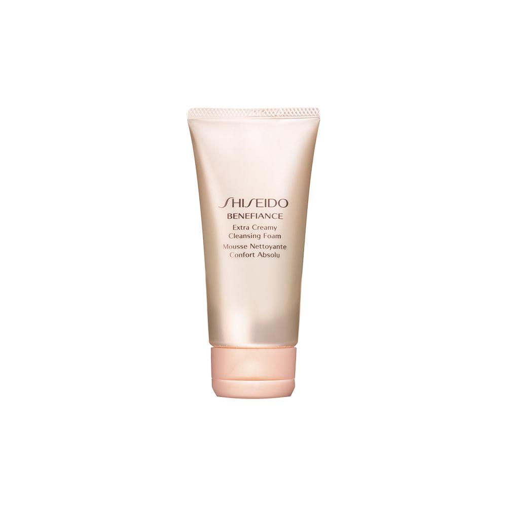 Shiseido Benefiance Extra Creamy Cleansing Foam 50ml.