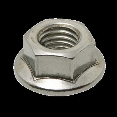 หัวน็อตหกเหลี่ยมติดแหวน (Flange Nut)