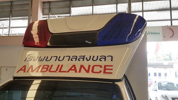 ครอบไฟรถพยาบาล แดง-น้ำเงิน