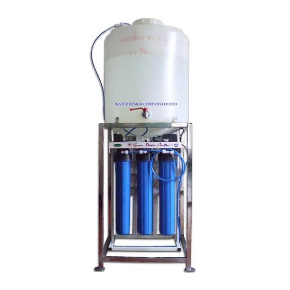เครื่องกรองน้ำ 5 ขั้นตอน ระบบ RO