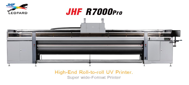 เครื่องพิมพ์ยูวี JHF R7000 PRO