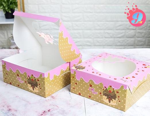 กล่องเค้ก 2 ปอนด์ แคทเค้ก 002